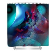 Abstract 0971711 Shower Curtain