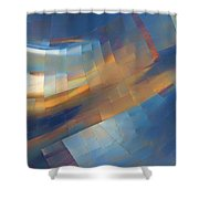 Abstract - 1 - Emp - Seattle Shower Curtain