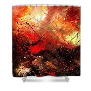 Abstract 100202 Shower Curtain