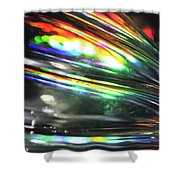 Abstract 1005 Shower Curtain