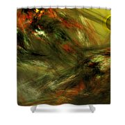 Abstract 102910a Shower Curtain