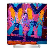 Abstract 10316 - Cropped Shower Curtain