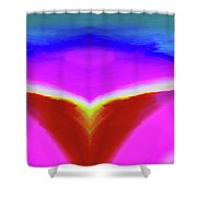 Abstract 103x By Nixo Shower Curtain