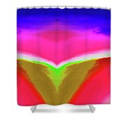 Abstract 104x By Nixo Shower Curtain