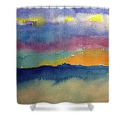 Peaking Shower Curtain