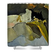 Abstract 110111 Shower Curtain