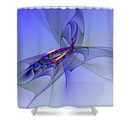 Abstract 110210 Shower Curtain