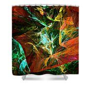 Abstract 110810 Shower Curtain