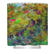 Abstract 111510 Shower Curtain