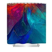 Abstract 120610 Shower Curtain
