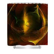 Abstract 120610a Shower Curtain