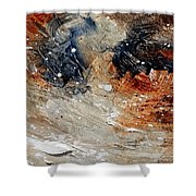Abstract  1236 Shower Curtain