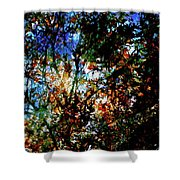 Abstract 126 Shower Curtain