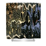 Abstract 13 Shower Curtain