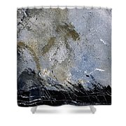 Abstract 135 Shower Curtain