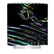 Abstract 137 Shower Curtain