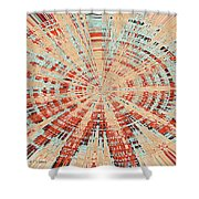 Abstract #149 Shower Curtain