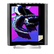 Abstract 170501 Shower Curtain
