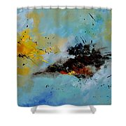 Abstract 1811803 Shower Curtain