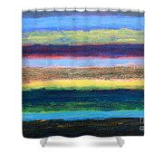 Abstract 215 Shower Curtain