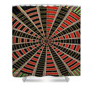 Abstract #2257-5 Shower Curtain