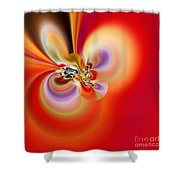 Abstract 239 Shower Curtain
