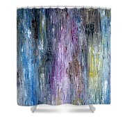 Abstract 252 Shower Curtain