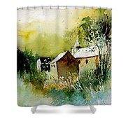 Abstract 260608 Shower Curtain