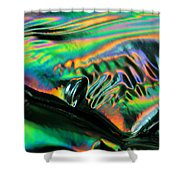 Abstract 031 Shower Curtain