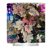 Abstract 340 Shower Curtain