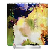 Abstract #36 Shower Curtain