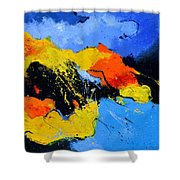 Abstract 363604 Shower Curtain