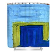 Abstract 402 Shower Curtain