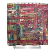 Abstract 403 Shower Curtain