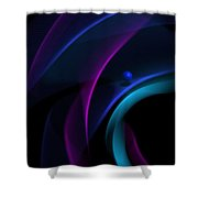 Abstract 41 Shower Curtain