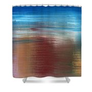 Abstract 422 Shower Curtain by Patrick J Murphy