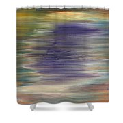Abstract 423 Shower Curtain