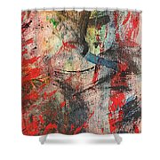 Abstract 43 Shower Curtain