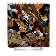 Abstract 446190 Shower Curtain