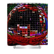 Abstract 452 Shower Curtain