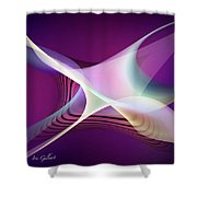Abstract 4579 Shower Curtain