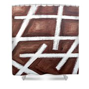 Abstract 459 Shower Curtain
