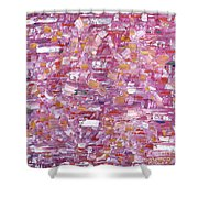 Abstract 467 Shower Curtain