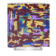 Abstract 50 Shower Curtain