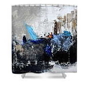 Abstract 51703 Shower Curtain