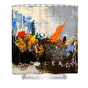 Abstract 517032 Shower Curtain