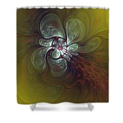 Abstract 51710 Shower Curtain