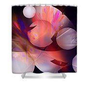 Abstract 51710d Shower Curtain