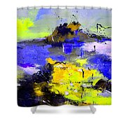 Abstract 55442233 Shower Curtain