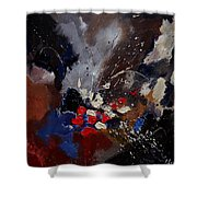Abstract 55900122 Shower Curtain